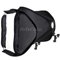 "FOTGA 24"" 60cm portable foldable hot shoe softbox tent for flash speedlite White"