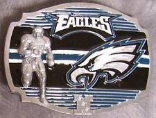 NFL Pewter Belt Buckle Philadelphia Eagles NEW