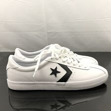 Converse CONS BREAKPOINT LEATHER OX White Black 157777C