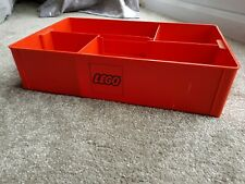 Rare Vintage Lego Storage Tray in Red