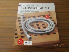 """Sicherheits-Brauseschlauch - 1/2"""" Zoll Standard-Anschluss - unbenutzt + OVP/S101"""
