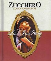 2 Dvd + 2 CD Box Cofanetto ZUCCHERO SUGAR FORNACIARI - LIVE IN ITALY come nuovo
