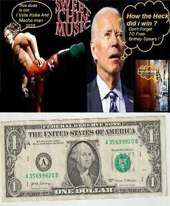 A $1 Time 2 Make Joe Biden Go Hungry Bid on My $1 vs His Nasty pens Free Britney
