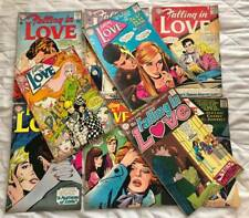 9 FALLING IN LOVE DC COMICS #68  #72 #110 #99  #66 AND MORE!