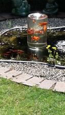"""Goldfischfenster für Teichfische.Fischglas-""""Schöne Aussicht,   Geschenk Tipp !!!"""