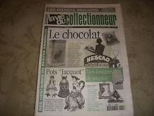 LVC VIE du COLLECTIONNEUR 291 29.10.1999 CHOCOLAT POT JACQUOT INSIGNES MARINE