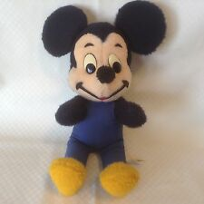 Vintage Mickey Mouse Plush Walt Disney Productions California Stuffed Toys 15""