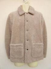 ASOS - Mens Light Beige Warm Fur Fabric Jacket - size XS