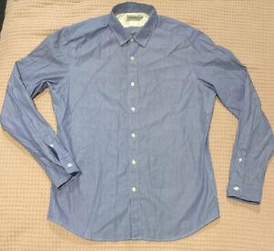 Brooksfield Mens Long Sleeve Shirt size XL