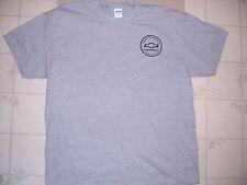 American Heritage Chevrolet Bowtie Gray Short Sleeve T Shirt NWOT Sz XL