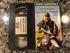Sammy Schrimshers Hunting Adventures VI Vhs!