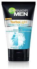 100ml Garnier MEN Face Wash Icy Duo Foam Cleanser TurboLight Whitening Effect