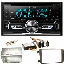 Kenwood DPX-7100DAB USB Einbauset für Mercedes C-Klasse W203 CLK W208 W209