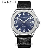 39mm Parnis Sapphire 21 Jewels Miyota Automatic Men's Watch Luminous Mark 10ATM