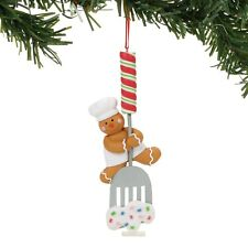 4058031 Dept 56 Gingerbread Man on Bakers Spatula Christmas Ornament
