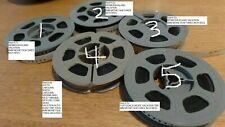 8mm Home Movie Film Reel Old Trips to Choose BERMUDA ISLAND; PORTUGAL EUROPE ETC