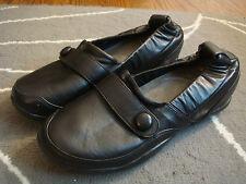 DANSKO black leather flats size 38 ( 7.5 )