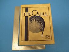 Vintage 1938 The Quill 39-pg Writers' Magazine, O'Donnell Rosenberg, L153