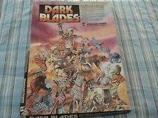 DARK BLADES GAME - STANDARD GAMES - 1986 - DARK BLADES - 100% - RARE - UNPUNCHED