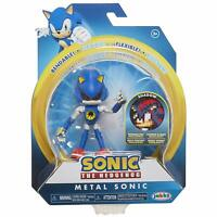 Sonic the Hedgehog ~ METAL SONIC (WAVE 2) ACTION FIGURE w/BENDABLE ARMS & LEGS