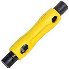 Speedy Coax Cable Stripper Tool CAT5 CAT6 Coaxial RG6 RG59 RG7 RG11 100 Type