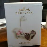 Hallmark Keepsake Celebrity Style Christmas Ornament  2006 New