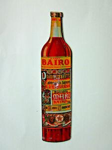 amaro BAIRO Torino ; Toupie de Comptoir en Tôle lithographié  Italie 1925