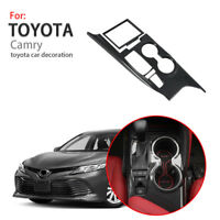 For 2018 Toyota Camry Inner Gear Shift Box Panel Cover Carbon Fiber Pattern Trim