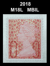 2018 - 1st - M18L - MBIL  Single Stamp from Business Sheet on SBP2u Paper