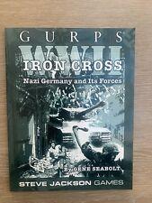 Steve Jackson, GURPS. WWII Iron Cross RPG 2002