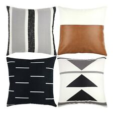Cubre Decorativa para Almohadón sólo para sofá, sofá o cama conjunto de 4 18X18 G1H7