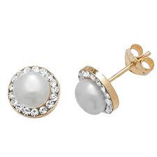 Gioielli di lusso perla di pietra principale zircone