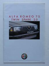 1962 Alfa Romeo 75 Twin Spark 2.0 Italian Vintage Original