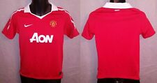 Manchester United FC Red Nike Dri-Fit Home Jersey 2010/11 - Boys Large