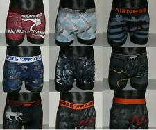 AIRNESS LOT SURPRISE DE 6 BOXERS 6 MOTIFS DIFFERENTS Taille S - NEUF
