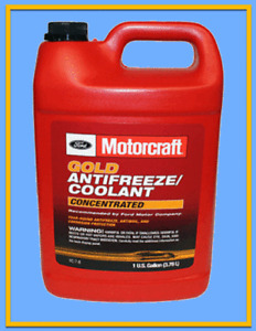 1 Gallon Engine Coolant/Antifreeze MOTORCRAFT VC7B GOLD Concentrated