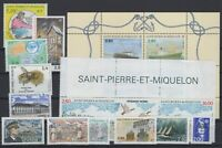 BG142543/ ST PIERRE & MIQUELON – YEAR 1994 – Y&T # 592 / 608 MINT MNH