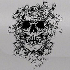 Skull Grunge Tattoo Tailgate Hood Window Decal Vehicle Truck Car SUV Vinyl