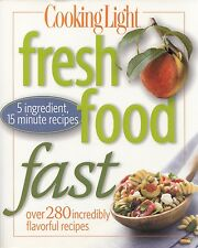 FRESH FOOD FAST COOKING LIGHT COOKBOOK 280+ RECIPES DEEP SOUTH SHRIMP & SAUSAGE