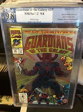 GUARDIANS OF THE GALAXY #25 FOIL COVER CGC PGX 9.8
