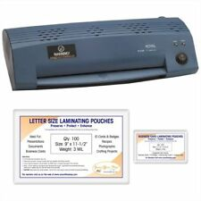 Complete Kit 9 Laminator Pl2100 Amp 200 Pouches New