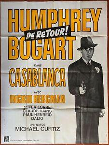 Poster Casablanca Michael Curtiz Humphrey Bogart Ingrid Bergman Morocco
