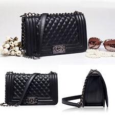 Fashion Gilrs Messenger Style Crossbody Satchel Chain Shoulder Strap Handbag Bag