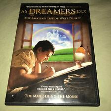 As Dreamers Do The Amazing Life Of Walt Disney Dvd Biopic Movie