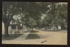 Postcard MEADVILLE PA North Park Ave Looking North 1910