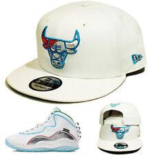 New Era NBA Chicago Bulls Snapback Hat Matching Air Jordan 10 Retro Wing Cap