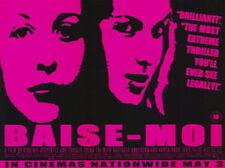 Baise-Moi Karen Lancaume Rafaella Anderson Original 30X40 Uk Quad Movie Poster