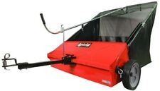 Tow-Behind Lawn Tractor Sweeper 44 in. 25 cu. ft. Sweep Grass Leaves Pine Cones