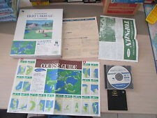 >> EIGHT LAKES G.C. GOLF FM TOWNS MARTY JAPAN IMPORT COMPLETE IN BOX! <<