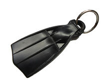 Mini Fin Scuba Diving Diver Key Chain KeyChain Black